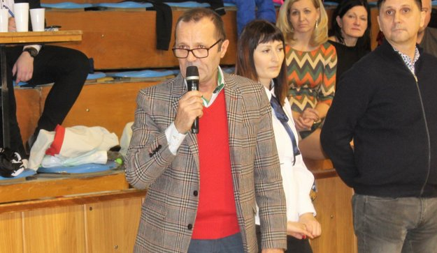 Predseda ZsFZ Ladislav Gádoši