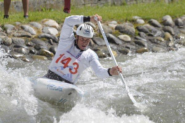 V sobotu dvojnásobný olympijský víťaz Michal Martikán prehral so Slafkovským o 97 stotín sekundy.