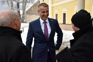 Na snímke podpredseda vlády SR pre investície a informatizáciu Richard Raši.