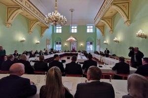 Rokovanie Vlády SR v Levoča.