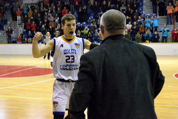 Simeon Jackuliak a tréner Tibor Jány.