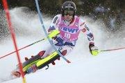 Francúzsky lyžiar Clement Noel sa usadil na čele po 1. kole slalomu Svetového pohára vo švajčiarskom Wengene v nedeľu 20. januára 2019.