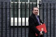 Britský minister zahraničného obchodu Liam Fox.