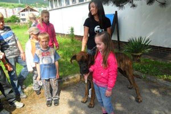 Deti sa dozvedeli zaujímavosti o rôznych plemenách psíkov.