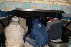 Dodávku plnú migrantov odhalili v Šahách vlani v januári.