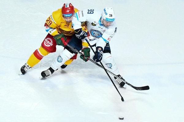 Ruský hokejista musel v Trenčíne skončiť. (ilustračný obrázok)