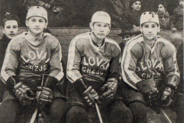 Zľava: Pavol Michalec, Ivan Grandtner a Štefan Kordiak.