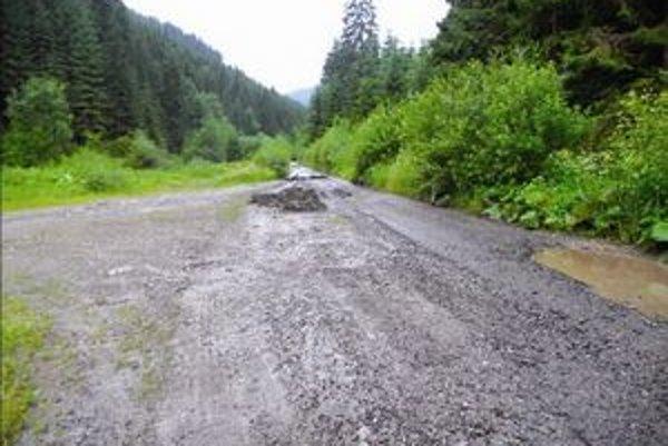 Ľudia z Liptovských Kľačian stoja za tým, že v ich doline končili šedočierne kaly z čistiarne odpadových vôd.