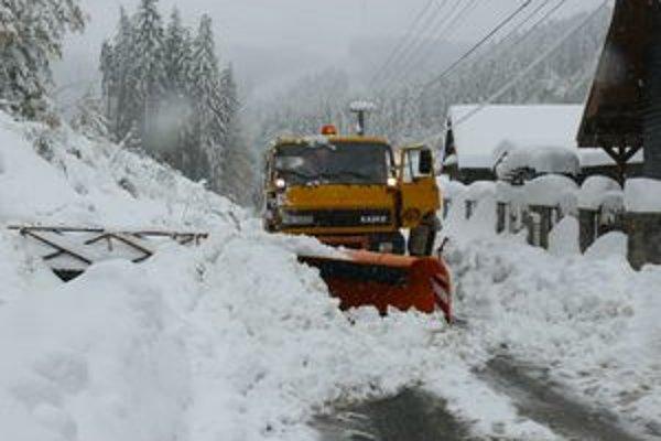 Ak by prišlo prudké oteplenie, namiesto snehu môžu niektoré časti Hornej Marikovej ohroziť povodne.