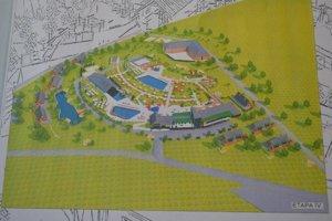 Vizualizácia. Takto by mal vyzerať lipiansky akvapark.