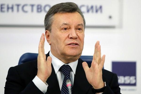 Ukrajinský exprezident Viktor Janukovyč.