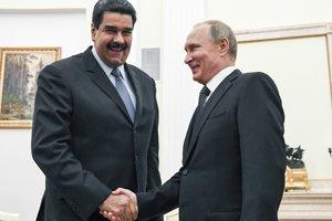 Putin v decembri privítal Madura v Rusku, kde venezuelský prezident loboval za posilnenie podpory pre svoj režim.