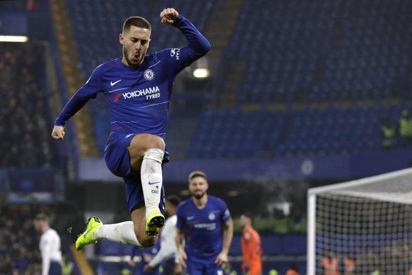 Eden Hazard z FC Chelsea.