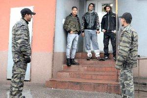 Rómska občianska hliadka v akcii.