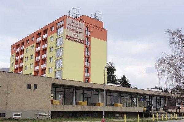 Budova SOŠ veterinárnej v Nitre.