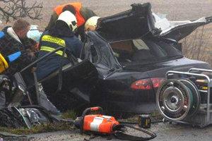 Nehoda stragickými následkami pri Jasenove.