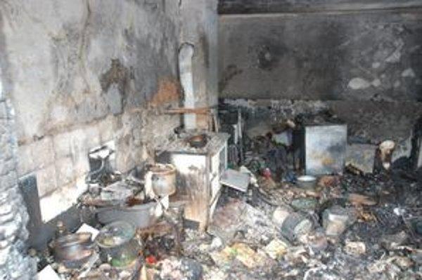 Zanedbaný komína môže byť príčinou požiaru.