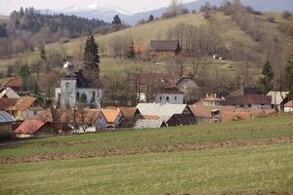 O titul najkrajšej obce súťažila jediná liptovská obec.
