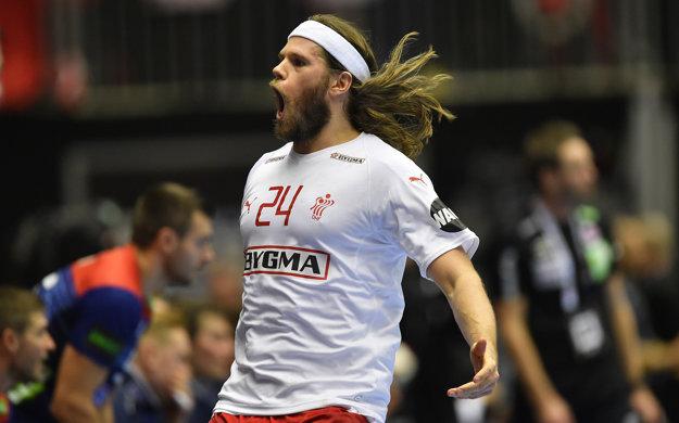 Mikkel Hansen strelil vo finále sedem gólov a bol najlepším strelcom Dánska.