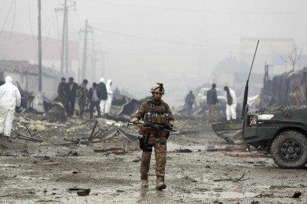 Afganskí vojaci sa už čoskoro nebudú môcť spoľahnúť na pomoc Američanov.