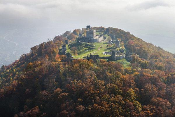 Šarišský hrad.