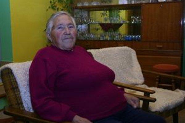 Eva Lúčanová z Ľubele oslávila deväťdesiate narodeniny.