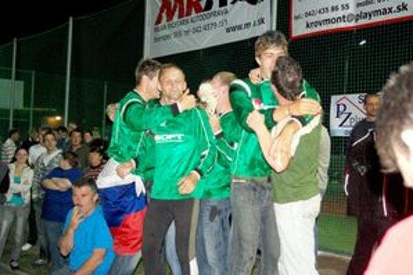 Radosť Zboranov z bronzu.