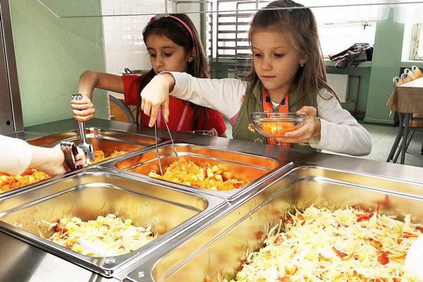Od výšky stravnej jednotky 1,20 eura stanovenej ministerstvom delí škôlky v Leviciach jeden cent. K dobru.