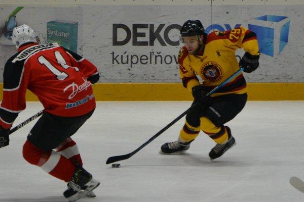 Martin Kalináč strelil v poslednom kole základnej časti dva góly.