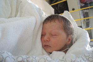 Matúš Trebatický (2920 g, 48 cm) sa narodil 20. januára Anne a Lukášovi z Hôrky nad Váhom.