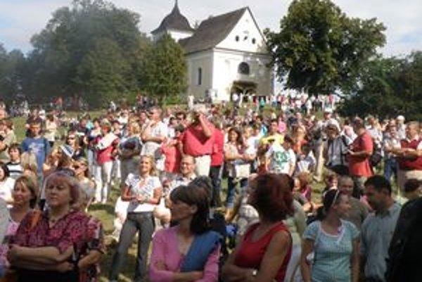 Hody prilákali množstvo návštevníkov.