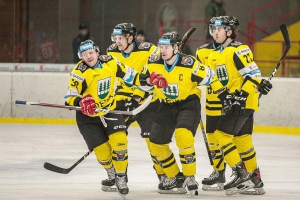 Hokejisti HC 07 Detva.