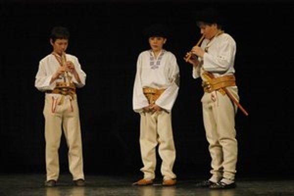 Trio zo Súkromnej umeleckej školy v Ružomberku.