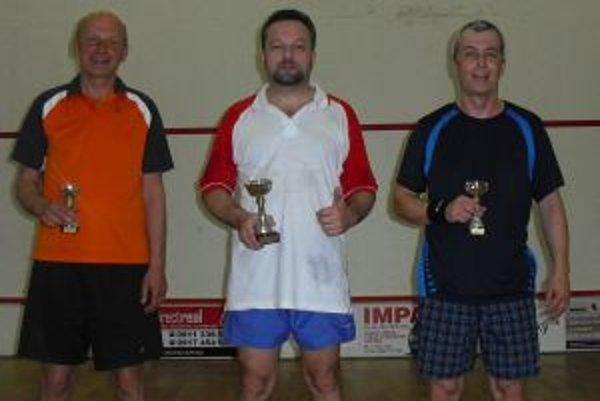 Na fotografii zľava: Peter Belluš, Peter Sirota, Martin Sprušnaský.