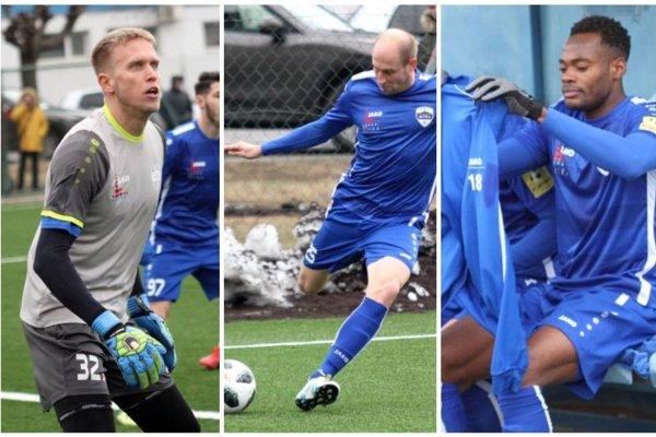 Branislav Pindroch, Ivan Zgrablič a Elvis Mashike Sukisa - tri nové tváre, ktoré sú blízko k podpisu s FC Nitra.