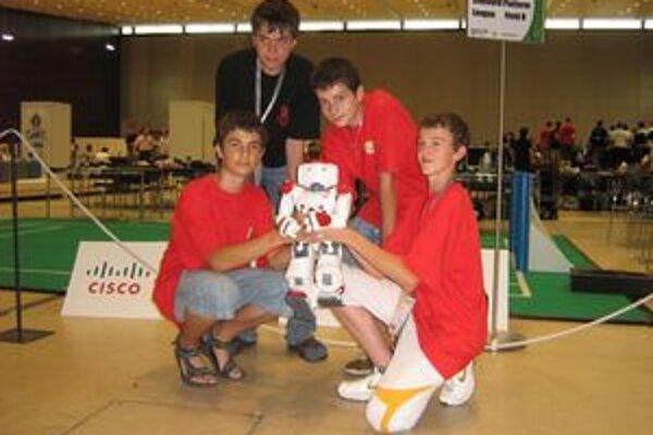 Na súťaži v Grazi sa chlapcom z Domaniže darilo.