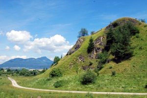 Lúčny hríb je archeologickým náleziskom.