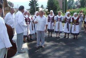 Miesto v Jamníku, kde otvorili novú cestu, patrí k najstarším kútom dediny.