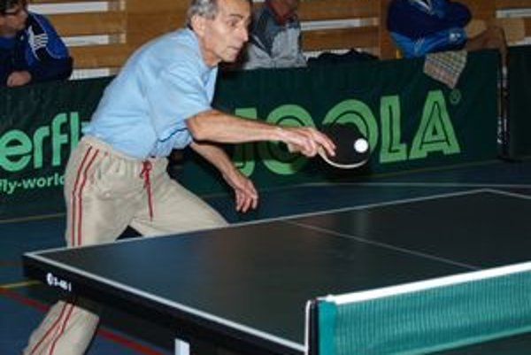 Ivan Bubeliny súťažil v kategórii 60 až 69 rokov.