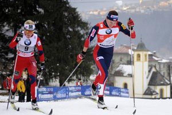 Behu na lyžiach sa upísala nielen Katarína Garajová, ale aj Michal Jurena z Liptovského Hrádku, ktorý zvíťazil v kategórii mladší dorastenci.
