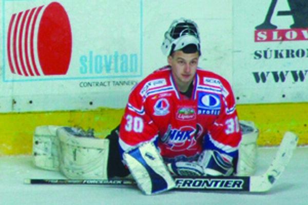 Gólman MHK 32 chytal  posledné dve finále play-off 1. hokejovej ligy