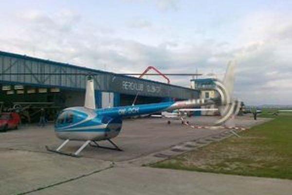 Obavy z hlučnosti sú, podľa investora, zbytočné. Z heliportu bude lietať malý vrtuľník.