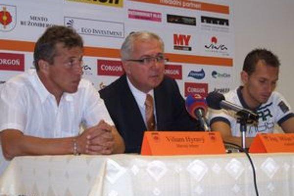 Ružomberčania svoje ciele pred štartom novej sezóny prezentovali pred novinármi.