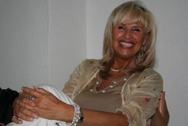 Eva Máziková v Partizánskej Ľupči oslnila svojím spevom, výzorom aj temperamentom