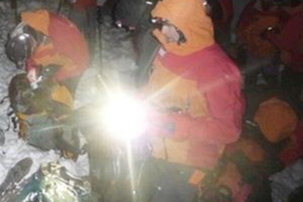 Mŕtvy muž z Liptovského Hrádku je prvou obeťou lavíny v tejto zimnej sezóne na Slovensku.