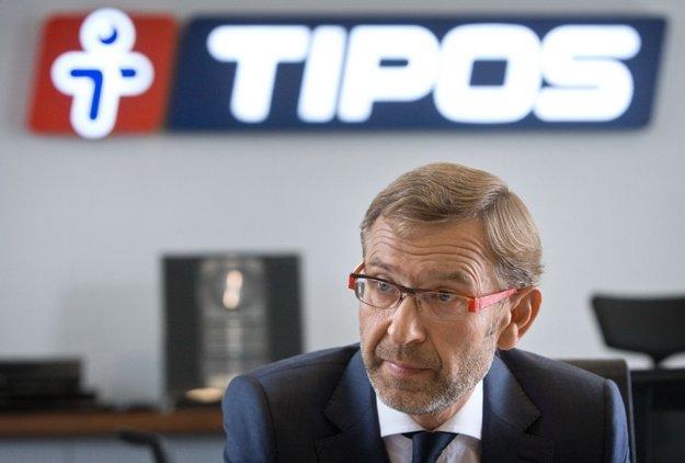 Bývalý riaditeľ národnej lotériovej spoločnosti Tipos Ladislav Kriška.