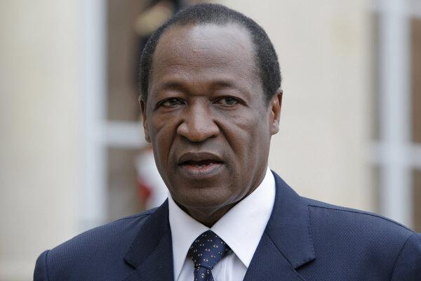Blaise Compaoré.