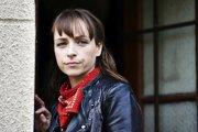 Česká herečka Táňa Vilhelmová.