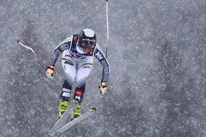 Švédka Lisa Hoernbladová počas 1. kola.
