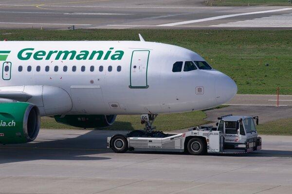 Lietadlá Germanie už nelietajú, aerolinky zbankrotovali.